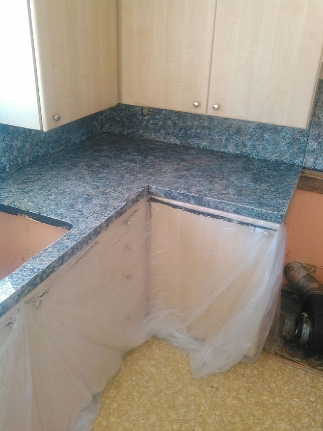 Updating Kitchen Countertops With Faux Finish Paint How To Painting
