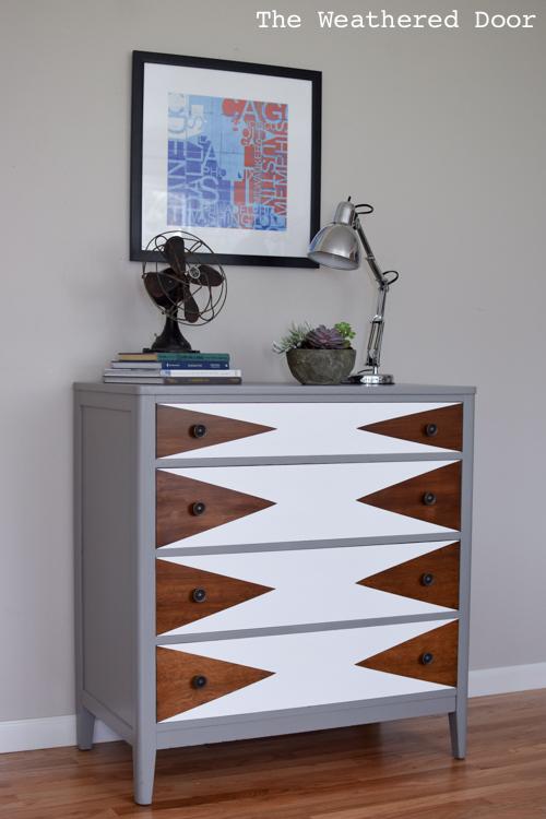 Brand new Before & After: Modern Triangle Dresser Makeover | Hometalk FQ17