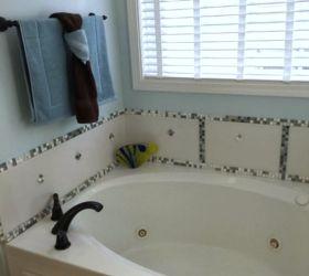 Diy Bathtub Makeover, Bathroom Ideas, How To, Tiling, I Am Woman Hear