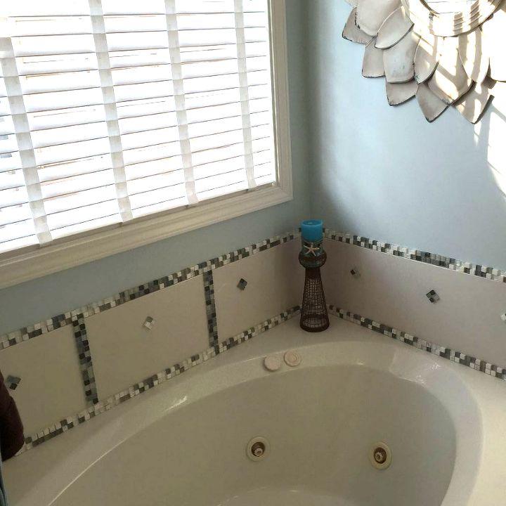 diy bathtub makeover, bathroom ideas, how to, tiling, No contractor needed