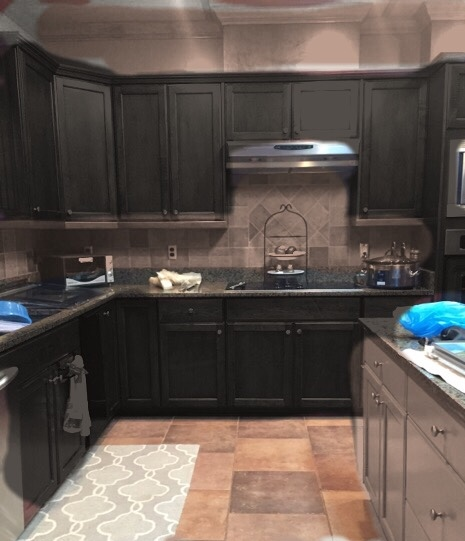 Silver Fox Paint Kitchen: Dark Vs. Light Cabinets