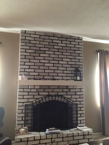 Wall Fireplaces Ideas Paint Design