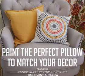 Marvelous Paint The Perfect Pillow To Match Your Decor Hometalk Creativecarmelina Interior Chair Design Creativecarmelinacom