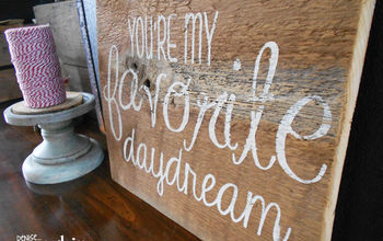 Reclaimed Wood Love Signs