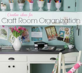 Creative Organizing Ideas For Craft Supplies, Craft Rooms, Crafts,  Organizing, Storage Ideas