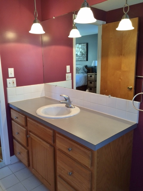 Redo Your Master Bath For 48 Here's How Hometalk Fascinating Small Master Bathroom Pictures Painting