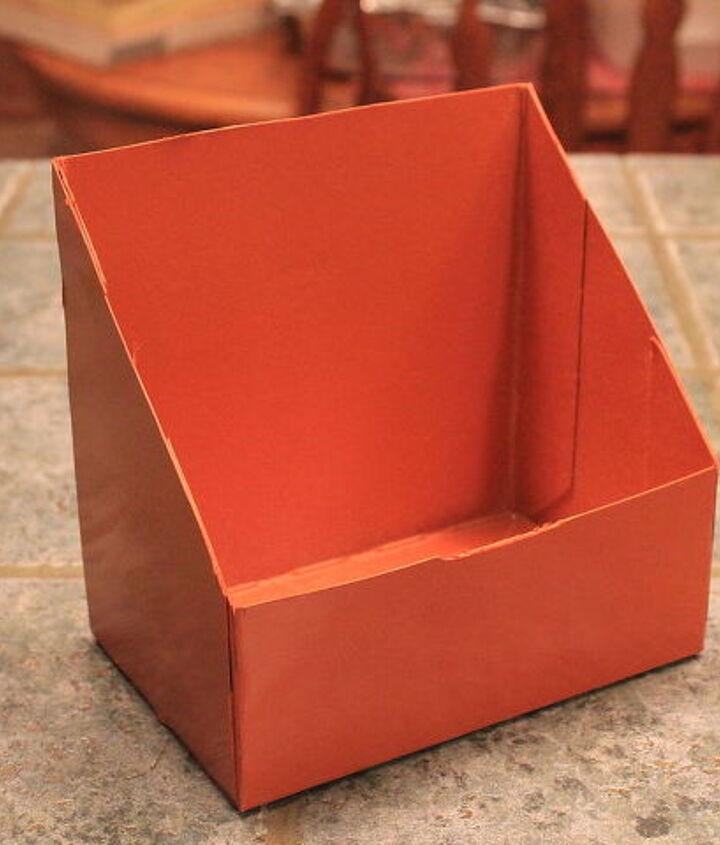 keurig box up cycled to mix holder, crafts, repurposing upcycling