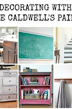 decorating with cece caldwell s paints and produts, kitchen cabinets, paint colors, painted furniture, painting