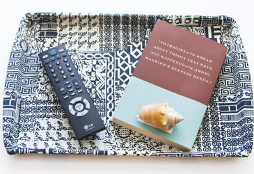 turn a cookie sheet into a serving tray, crafts, how to, repurposing upcycling