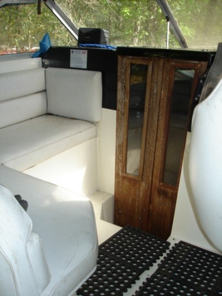 Revamping Cabin Doors And Teak Wood Galley On A Boat Hometalk