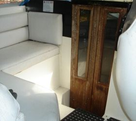 Revamping Cabin Doors And Teak Wood Galley On A Boat, Doors, Kitchen  Cabinets,