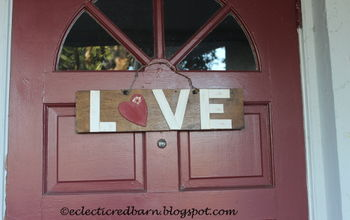 Create a Valentine LOVE Sign!