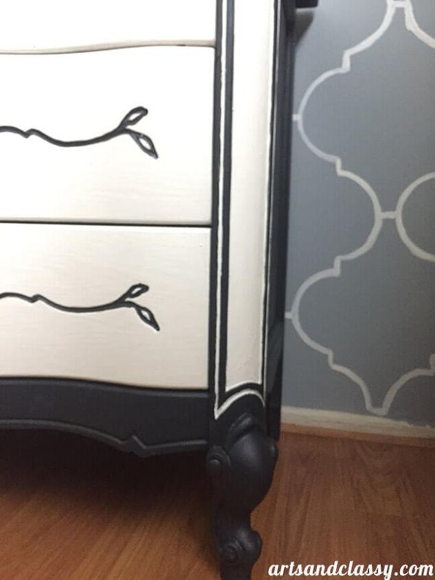 Vintage French Provincial Dresser Makeover Diy Chalk Paint Recipe Hometalk