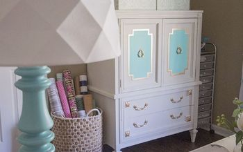 A $30 Mid-Century Armoire Gets a Makeover