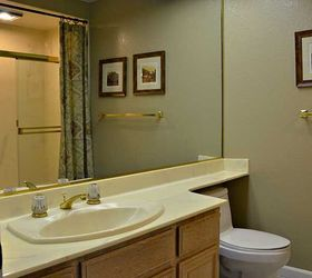 Guest Bathroom Makeover Before After, Bathroom Ideas, Home Improvement,  Painted Furniture, Repurposing
