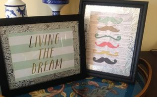 diy new pictures from old photo frames, crafts, repurposing upcycling