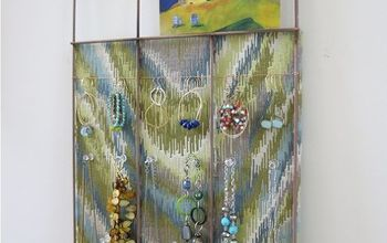 recycle a garden fence into a fun bulletin board or jewelry display, crafts, repurposing upcycling, wall decor