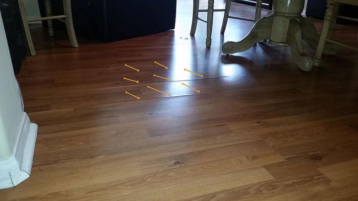 Wood Laminate Floor Repair Hometalk