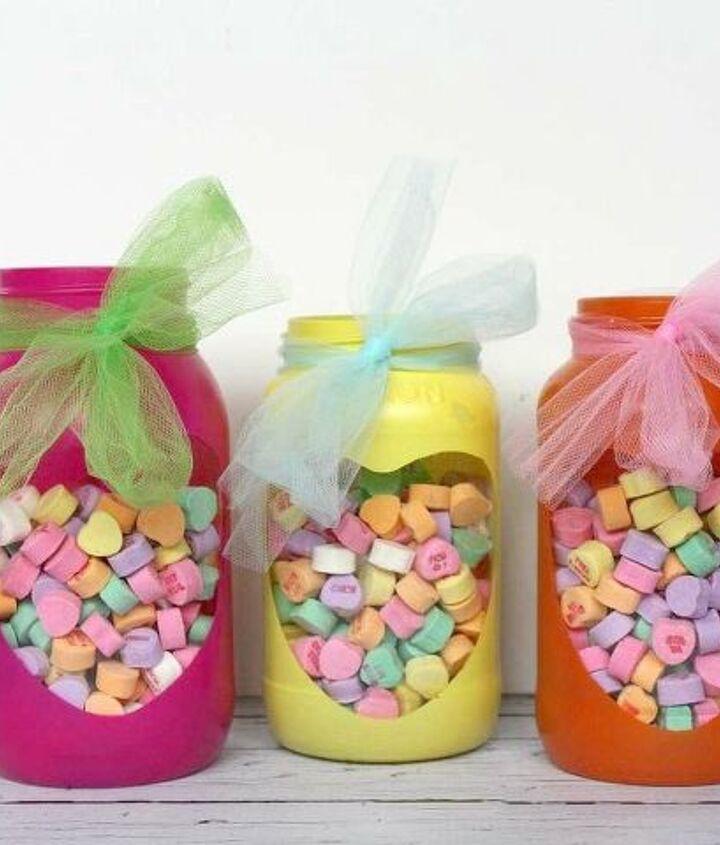 valentine mason jar heart gifts valentinesday masonjars, crafts, how to, mason jars, repurposing upcycling, seasonal holiday decor, valentines day ideas