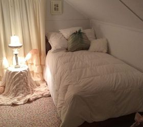shabby chic vintage finished attic bedroom bedroom ideas repurposing upcycling shabby chic & Shabby Chic Vintage Finished Attic Bedroom | Hometalk
