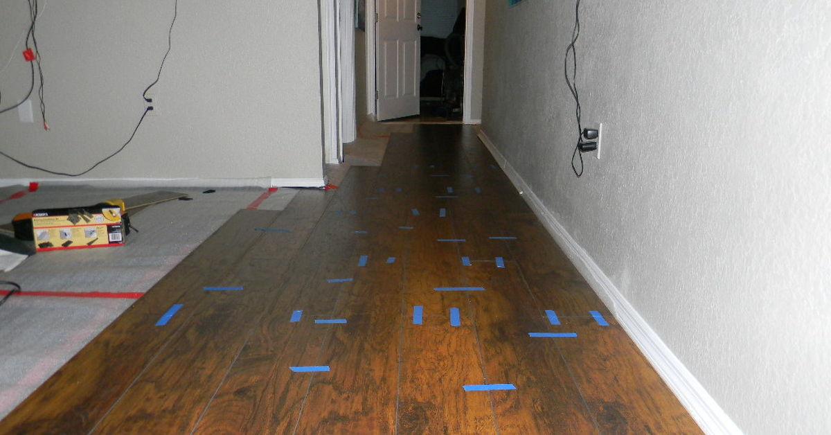 Diy Laminate Flooring Installation Hometalk