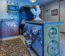 accent cabinet gets island makeover, kitchen cabinets, kitchen design, organizing, storage ideas