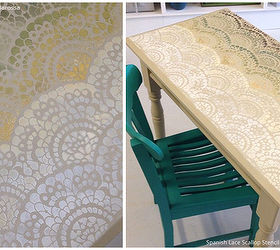 4 Out Of The Box Stenciled Table Top Ideas, Chalk Paint, Home Decor,