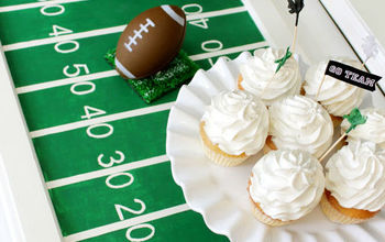 Super Bowl Football Field - Party Tray