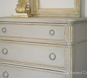 Chalk Painted Drawer Chest, Chalk Paint, Painted Furniture