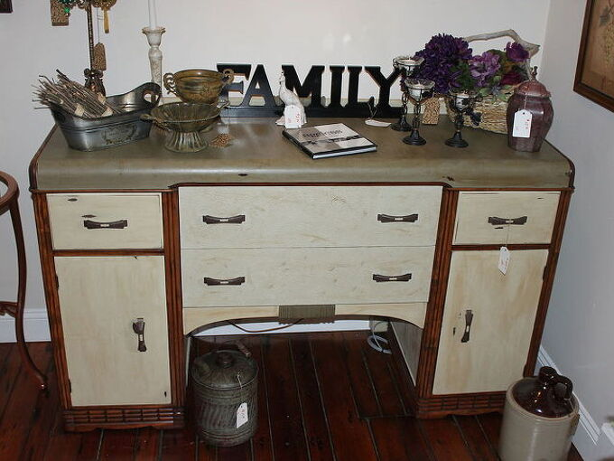 refinished waterfall buffet, chalk paint, diy, painted furniture, repurposing upcycling, woodworking projects
