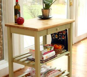 Lovely Quick Kitchen Cart Makeover With Bb Frosch Chalk Powder, Chalk Paint,  Kitchen Design,