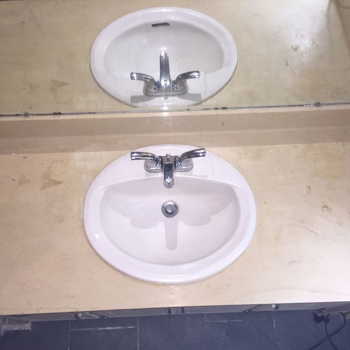 Bathroom Remodel - Vanity Refinish Bye Bye Early 80\'S | Hometalk