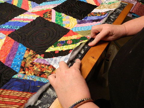 Have You Ever Done Fold Over Binding For Your Quilts Hometalk