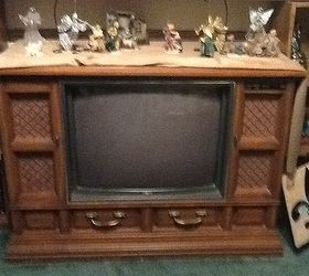 I have an old console TV that doesn't work. I would like to reuse ...