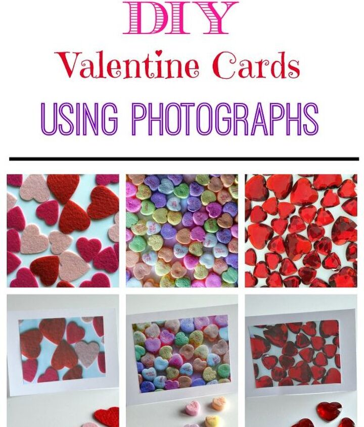 handmade valentine cards using your own creative photography, crafts, diy, how to, seasonal holiday decor, valentines day ideas