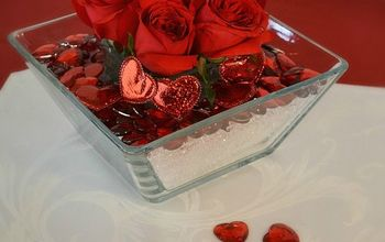 Create An Easy Inexpensive Stunning Valentine Floral Table Centerpiece