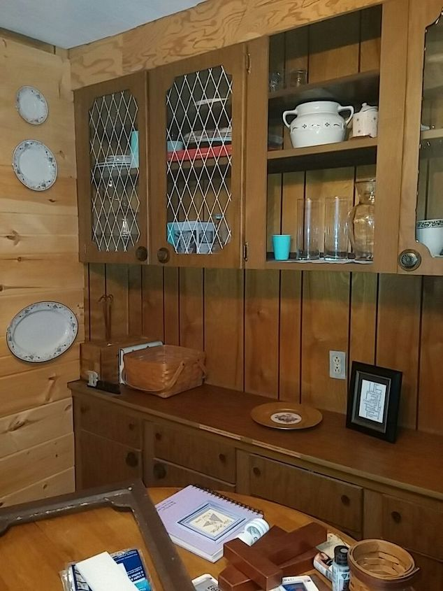 Ideas Refurbish Pressboard Hutch and Buffet | Hometalk