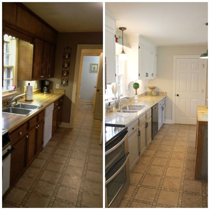 after budget kitchen makeovers makeover