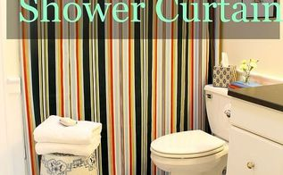 How To Make A Shower Curtain Bathroom Ideas Diy How To