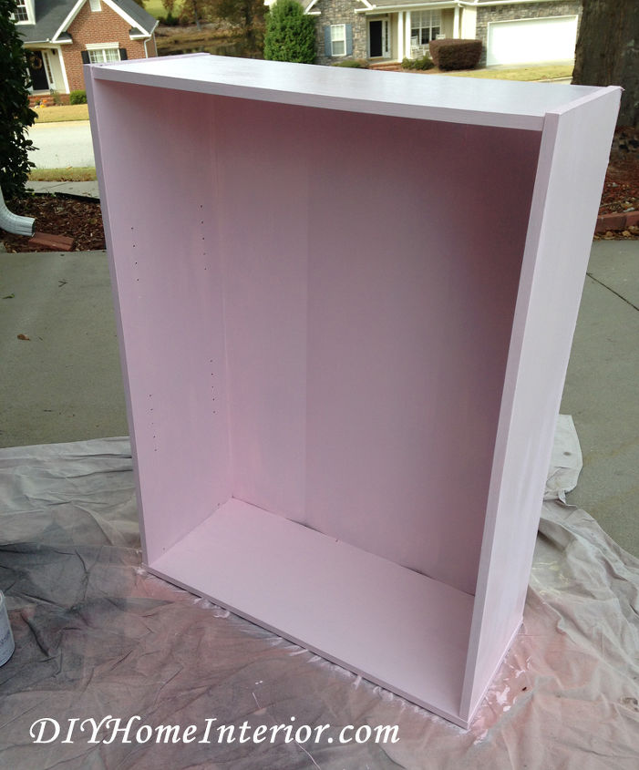 diy little girl s princess dress up closet, bedroom ideas, painted furniture, repurposing upcycling