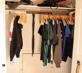 Diy Custom Closet To Maximize Space, Bedroom Ideas, Closet, Diy, Organizing,