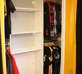 Diy Custom Closet To Maximize Space, Bedroom Ideas, Closet, Diy, Organizing,
