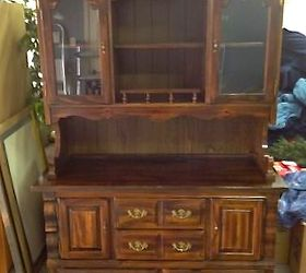 Craigslist Hutch Makeover With Chalk Paint, Chalk Paint, Painted Furniture,  Date 1980 S