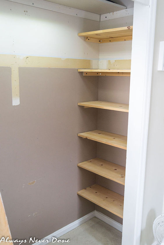 How to make the most out of a small closet hometalk - Small closet storage ideas ...