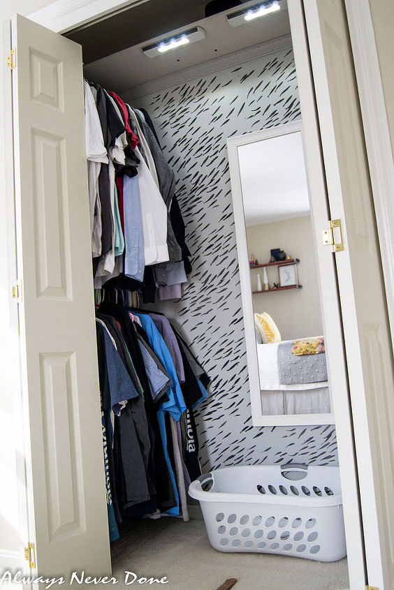 Make the most out of a small closet hometalk - Closet for small room ...