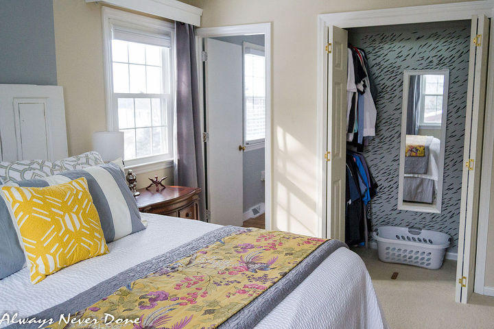 How to make the most out of a small closet hometalk - How to make the most of a small bedroom ...