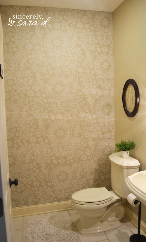 Starched Fabric Wall | Hometalk
