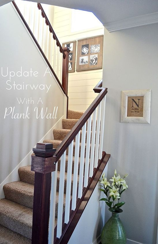 diy plank wall, painting, wall decor