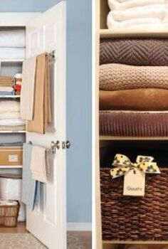 organized linen closet inspiration, closet, organizing