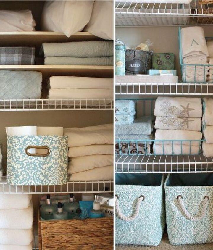organized linen closet inspiration, closet, organizing